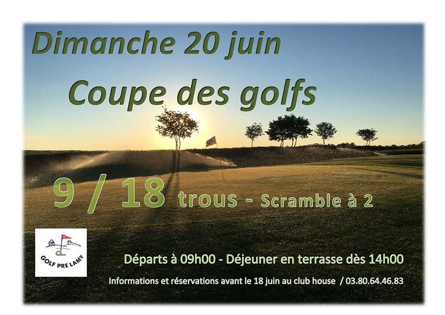 affiche coupe des golfs